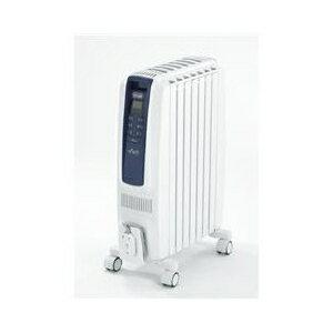 (お取り寄せ)デロンギ オイルヒーター ドラゴンデジタル スマート ピュアホワイト+ブルー QSD0712-MB[QSD0712MB]