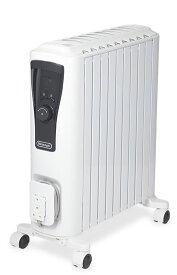 (在庫限り)デロンギ オイルヒーター RHJ65L0915 (ピュアホワイト+ブラック) ユニカルド オイルヒーター ※国内正規品