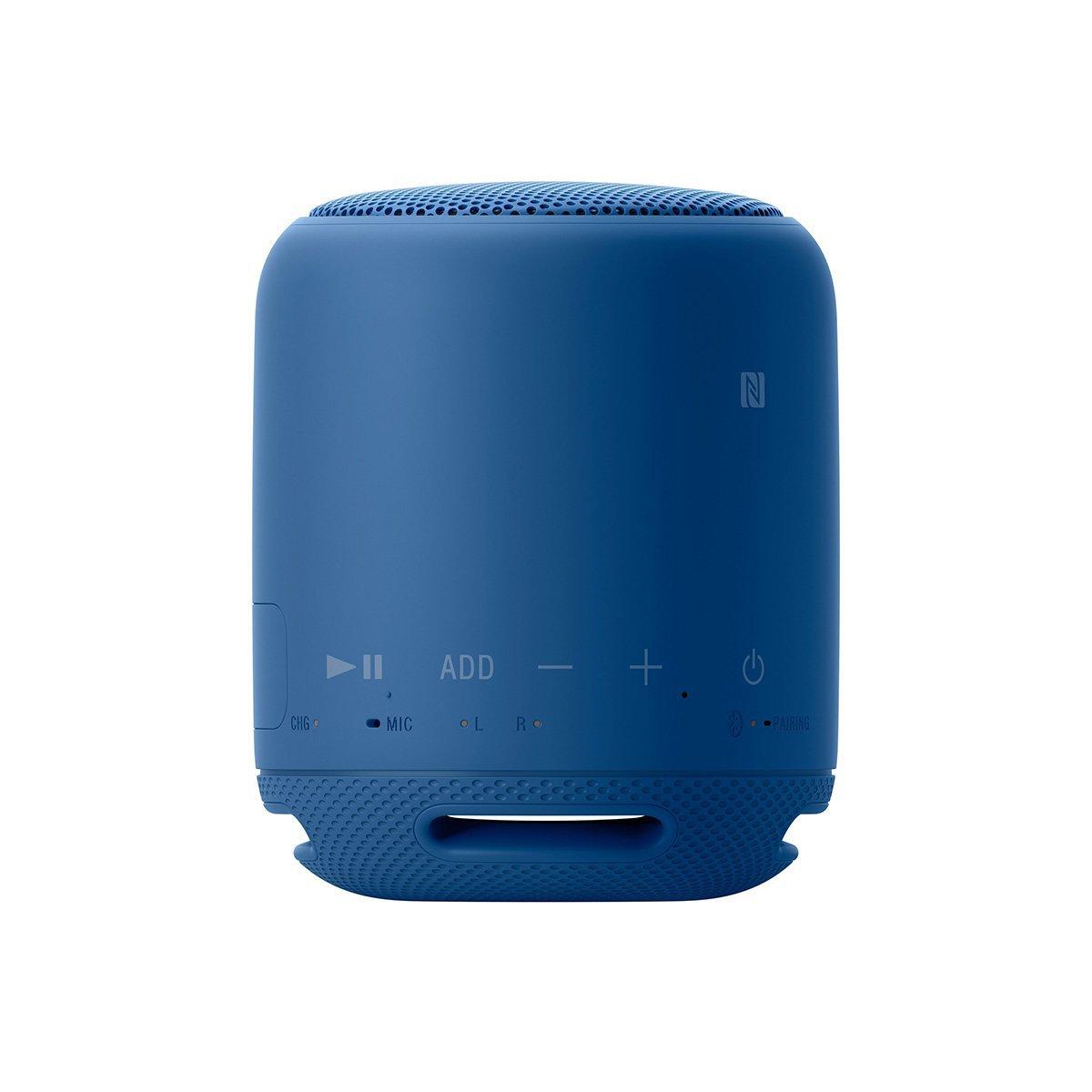(お取り寄せ)SONY SRS-XB10L(ブルー) ソニー ワイヤレスポータブルスピーカー 重低音モデル 防水/Bluetooth/NFC対応 [SRSXB10L]
