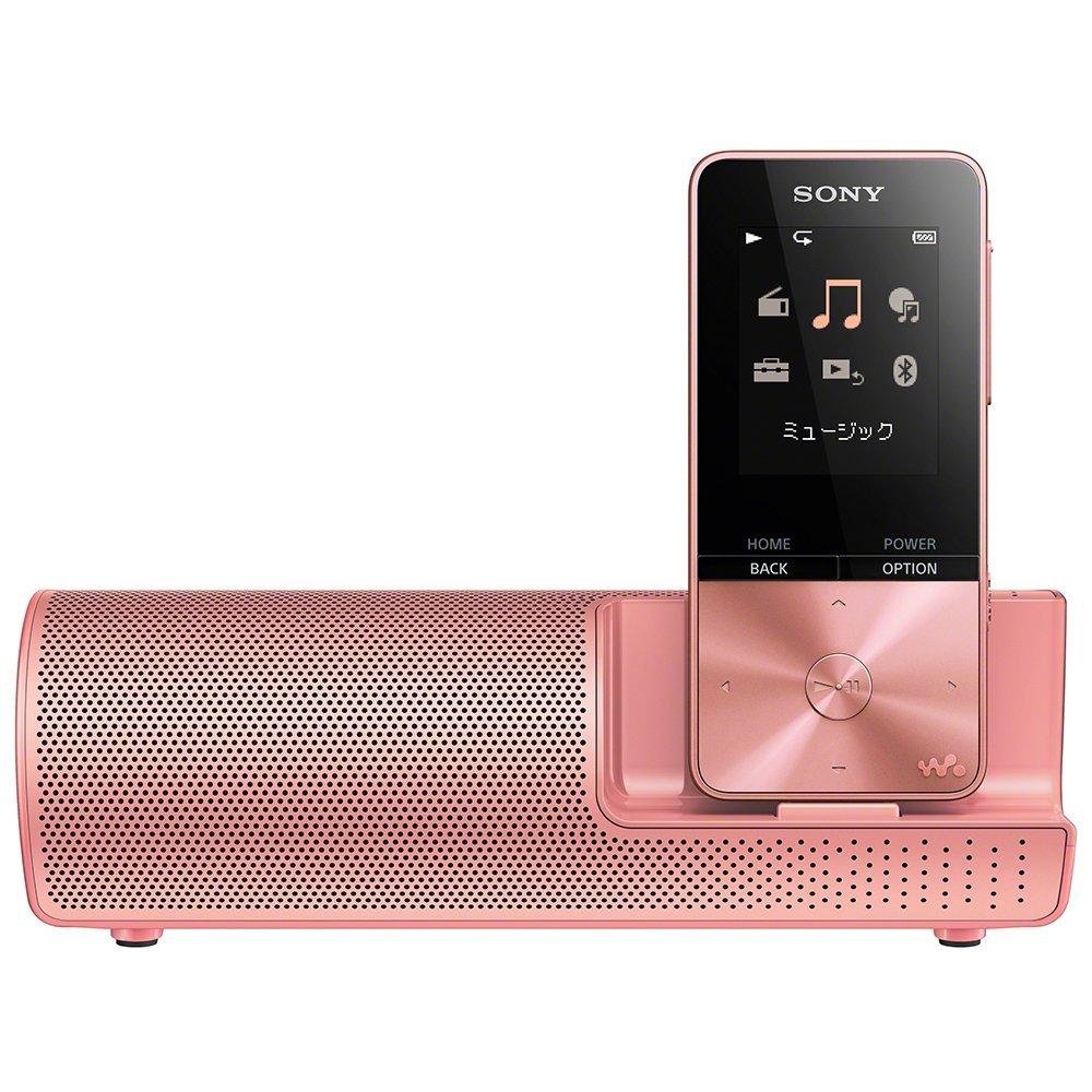 (在庫あり)SONY NW-S313K-PI ライトピンク 4GB ソニー ウォークマン イヤホン/スピーカー付属 Bluetooth対応 [NWS313KPI]