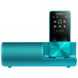 (納期目安3週間〜)SONY NW-S313K-L ブルー 4GB ソニー ウォークマン イヤホン/スピーカー付属 Bluetooth対応 [NWS313KL]