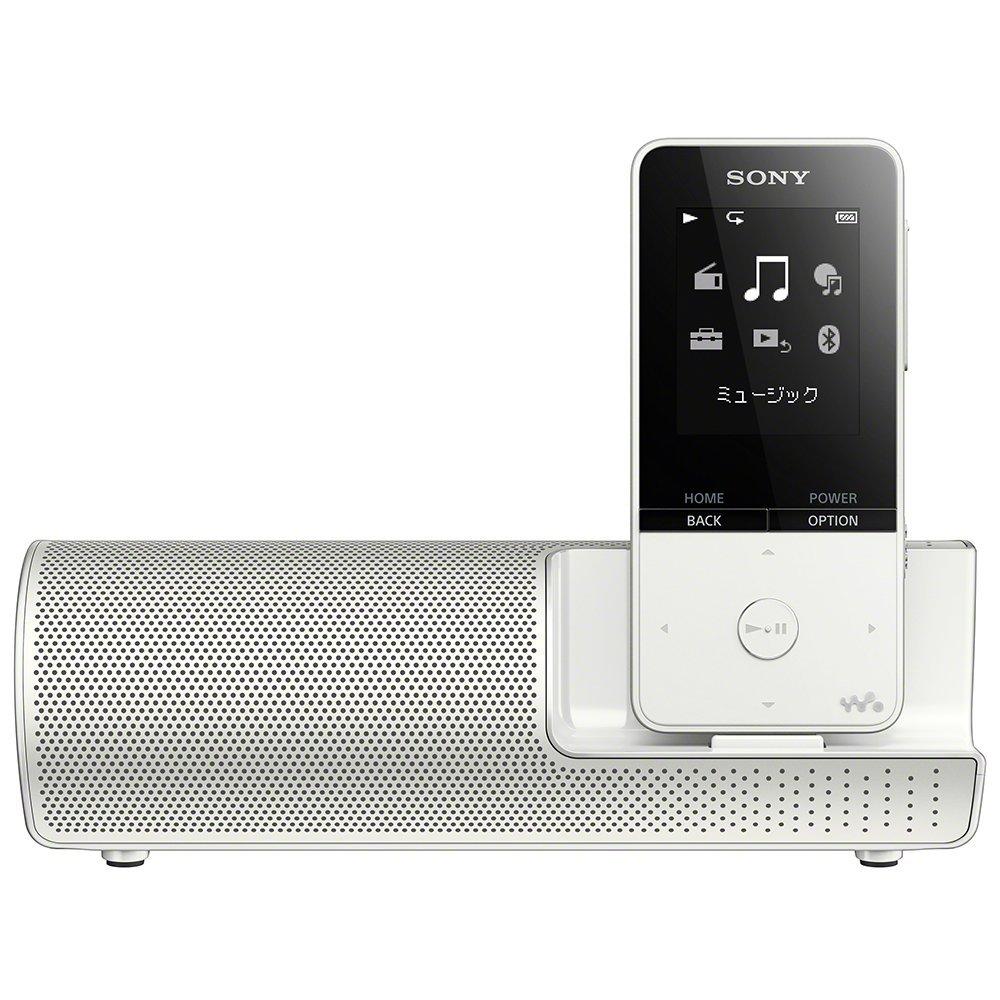 (お取り寄せ)SONY NW-S315K-W ホワイト 16GB ソニー ウォークマン イヤホン/スピーカー付属 Bluetooth対応 [NWS315KW]