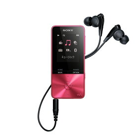(納期目安3週間〜)SONY NW-S315-P ビビッドピンク 16GB ソニー ウォークマン イヤホン付属 Bluetooth対応 [NWS315P]