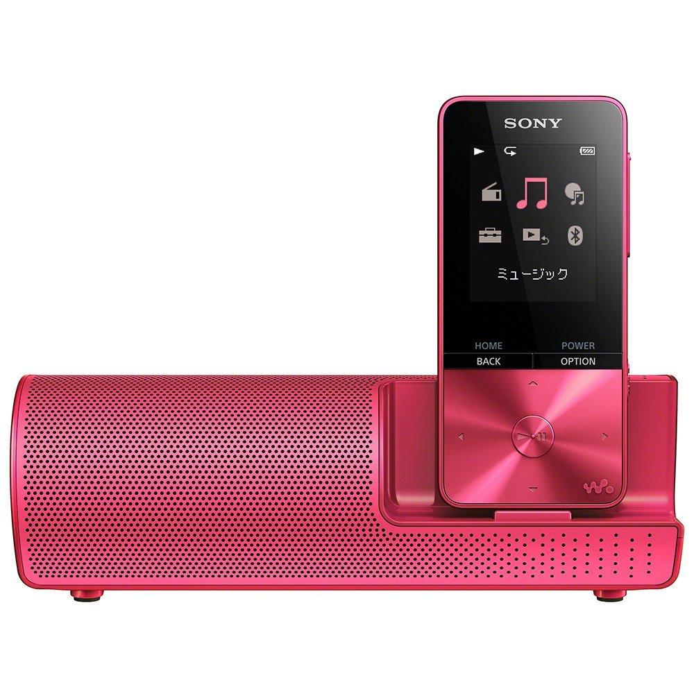 (在庫あり)SONY NW-S315K-P ビビッドピンク 16GB ソニー ウォークマン イヤホン/スピーカー付属 Bluetooth対応 [NWS315KP]