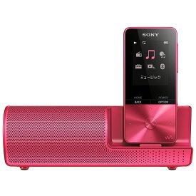 (納期目安3週間〜)SONY NW-S315K-P ビビッドピンク 16GB ソニー ウォークマン イヤホン/スピーカー付属 Bluetooth対応 [NWS315KP]