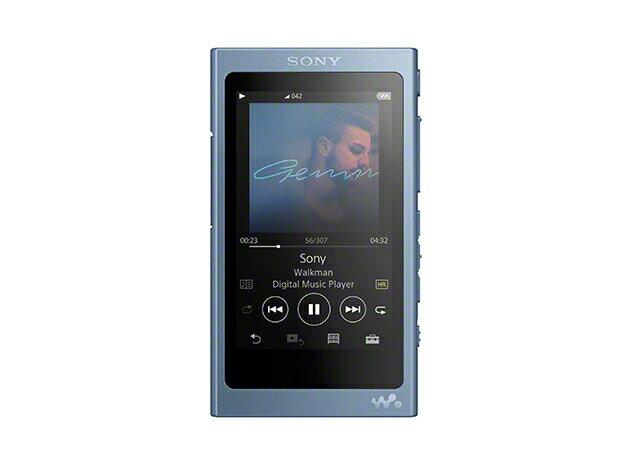(お取り寄せ)SONY NW-A45(L) ムーンリットブルー 16GB ソニー ハイレゾ/Bluetooth/microSD対応ウォークマン イヤホン別売 [NWA45L]