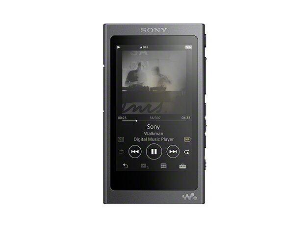(お取り寄せ)SONY NW-A45(B) グレイッシュブラック 16GB ソニー ハイレゾ/Bluetooth/microSD対応ウォークマン イヤホン別売 [NWA45B]