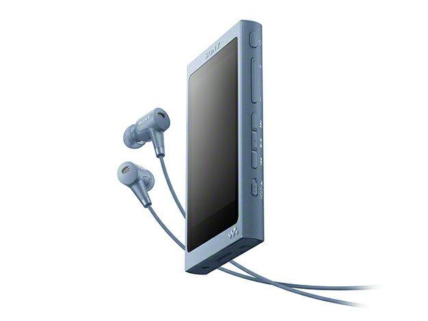 (お取り寄せ)SONY NW-A45HN(L) ムーンリットブルー 16GB ソニー ハイレゾ/Bluetooth/microSD対応ウォークマン イヤホン付属 [NWA45HNL]