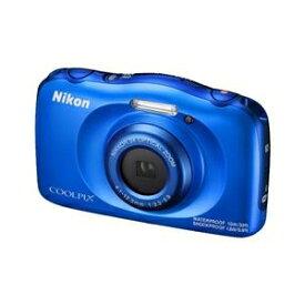 ニコン デジタルカメラ COOLPIX W100 ブルー COOLPIXW100BL