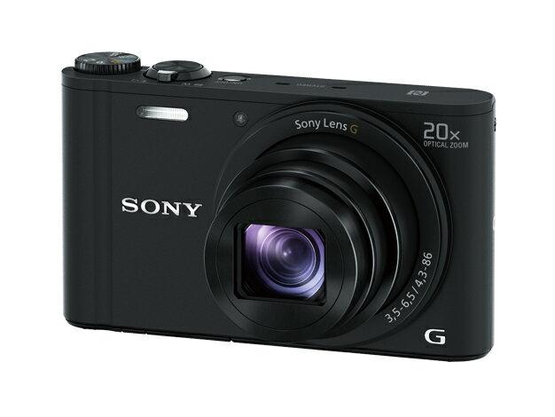 (納期目安2週間〜)SONY DSC-WX350 B デジタルカメラ Cyber-shot ブラック [DSCWX350B]