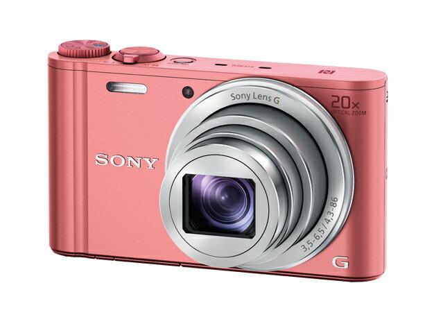 (お取り寄せ)ソニー DSC-WX350-P SONYデジタルカメラ Cyber-shot(サイバーショット)(ピンク)