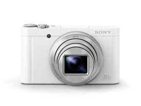 (納期目安1ヶ月〜)SONY DSC-WX500-W Cyber-shot デジタルスチルカメラ(ホワイト)(DSC-WX500W)