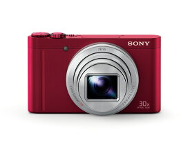 (納期目安3週間〜)SONY Cyber-shot デジタルスチルカメラ DSC-WX500 R(レッド)