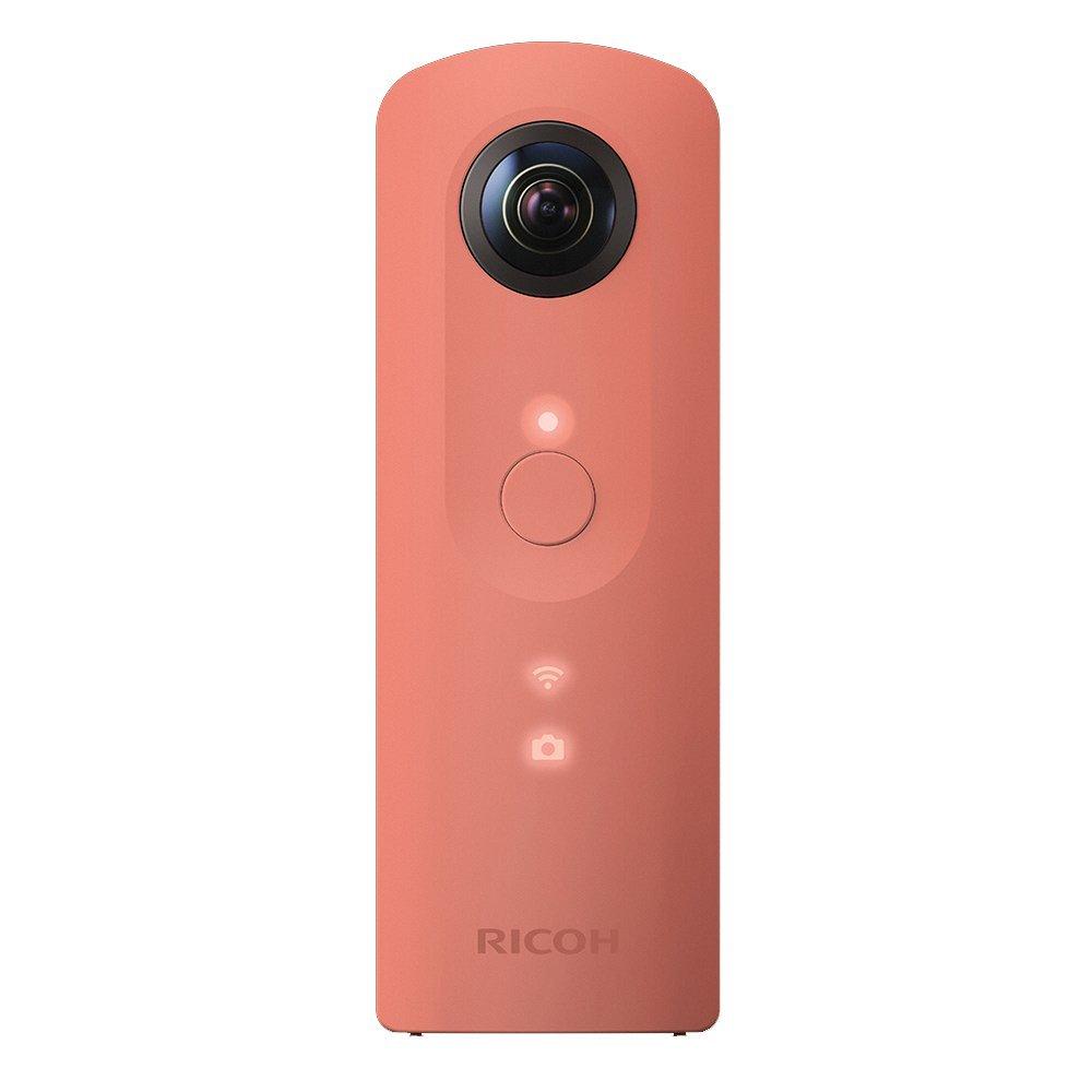 (在庫あり)RICOH THETA SC(ピンク)デジタルカメラ(360°全天球イメージ撮影デバイス)