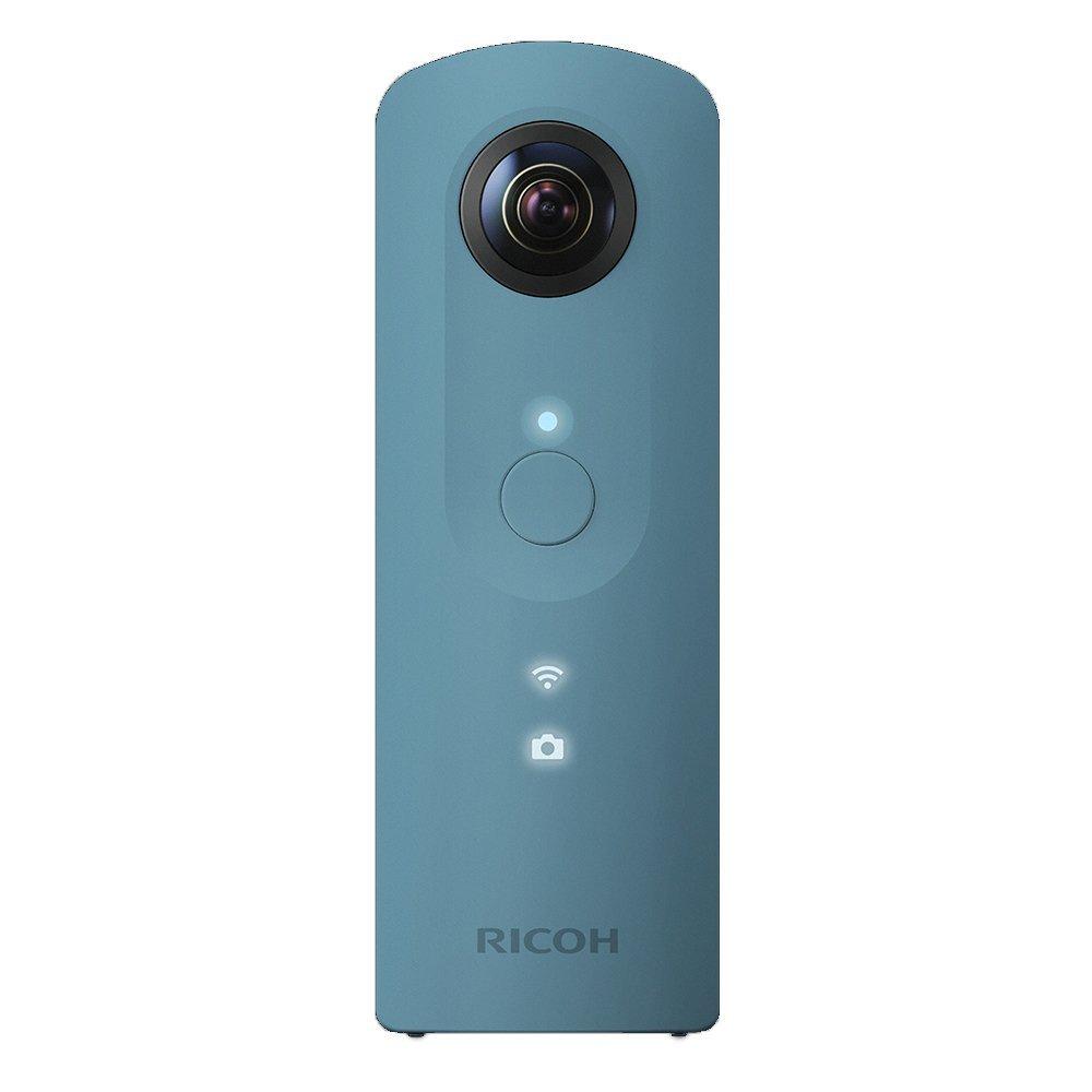 (在庫あり)RICOH THETA SC(ブルー)デジタルカメラ(360°全天球イメージ撮影デバイス)