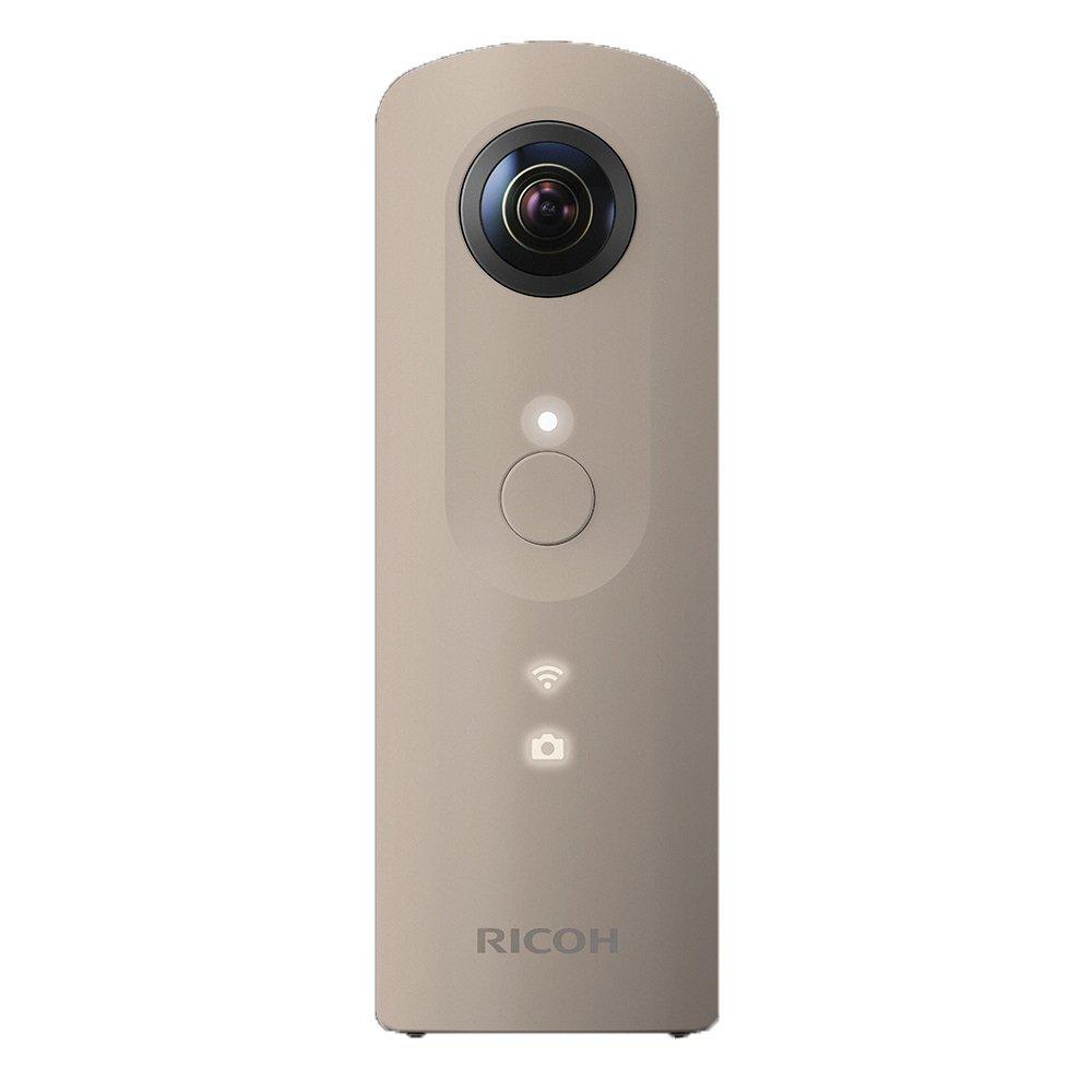 (在庫あり)RICOH THETA SC(ベージュ)デジタルカメラ(360°全天球イメージ撮影デバイス)
