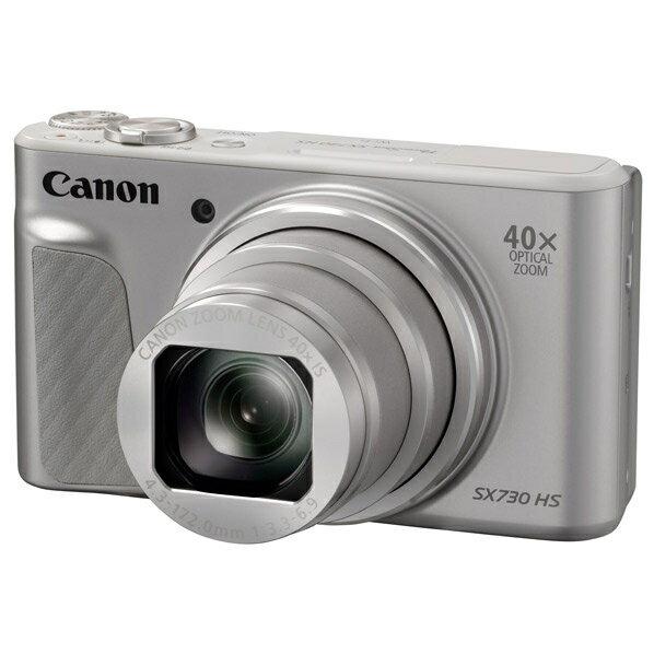 (新品在庫あり:最終処分)キヤノン デジタルカメラ PowerShot シルバー PSSX730HSSL