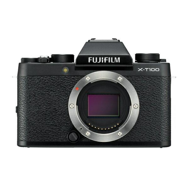 (お取り寄せ)富士フイルム デジタル一眼カメラ・ボディ ブラック FXT100B