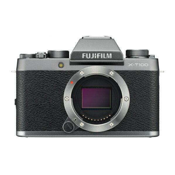 (お取り寄せ)富士フイルム デジタル一眼カメラ・ボディ ダークシルバー FXT100DS
