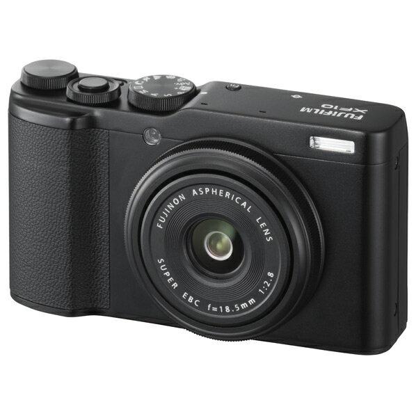 富士フイルム デジタルカメラ XF10 ブラック FXF10B