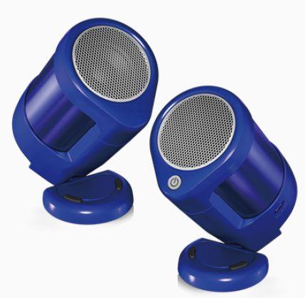 (お取り寄せ)サーモス VECLOS 真空ワイヤレスポータブルスピーカー ステレオタイプ SSA-40S BL ブルー