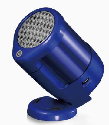 (お取り寄せ)サーモス VECLOS 真空ワイヤレスポータブルスピーカー モノラルタイプ SSA-40M BL ブルー