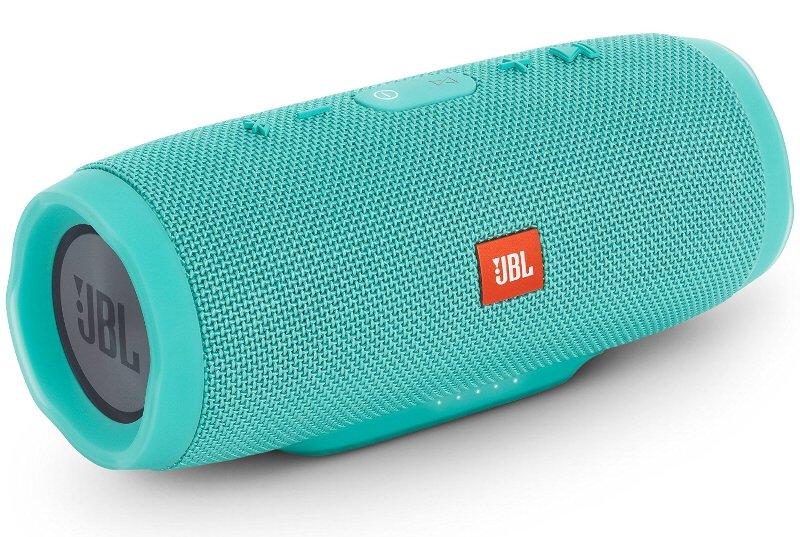(お取り寄せ)JBL CHARGE3 Bluetoothスピーカー IPX7防水機能 パッシブラジエーター搭載 ポータブル/ワイヤレス対応 ティール JBLCHARGE3TEALJN