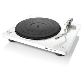 DENON アナログプレイヤー デザインシリーズ ホワイト DP450USBWTEM