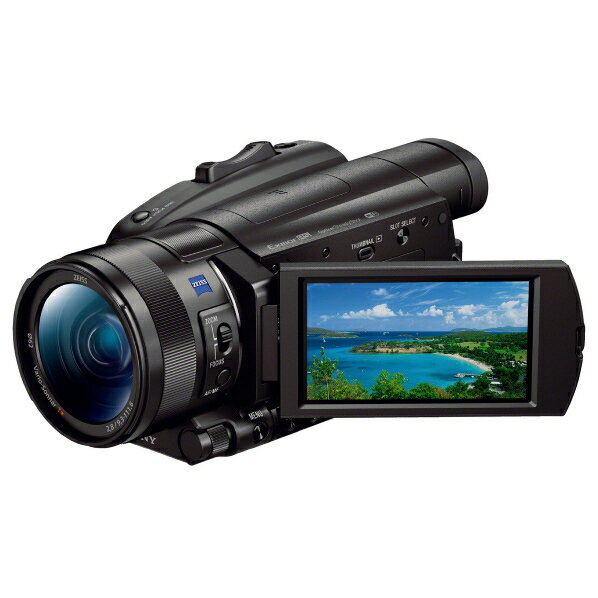 SONY FDR-AX700 デジタル4Kビデオカメラレコーダー ブラック [FDRAX700]