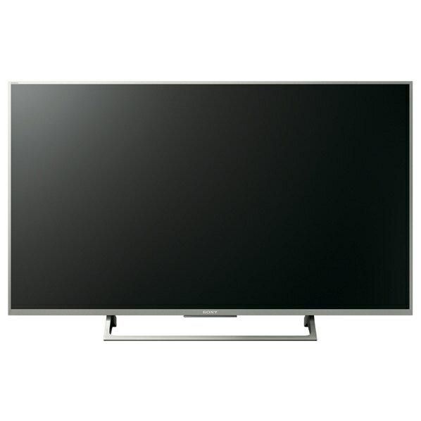 (物流在庫あり)SONY 43V型4K液晶テレビ BRAVIA ウォームシルバー KJ43X8000E S [KJ43X8000ES]