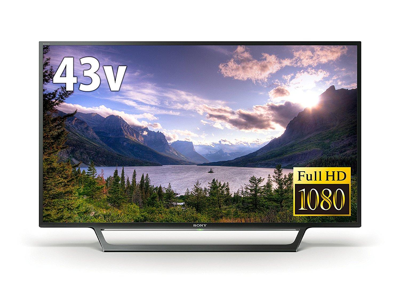 (物流在庫あり)SONY 43V型フルハイビジョン液晶テレビ BRAVIA KJ-43W730E [KJ43W730E]
