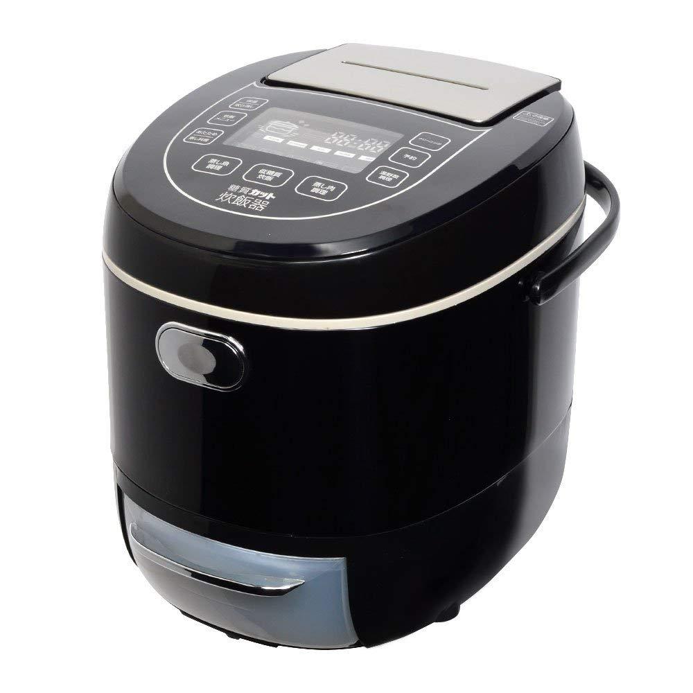 (在庫あり:在庫処分)サンコー 炊飯ジャー 「糖質カット炊飯器」(6合) LCARBRCK