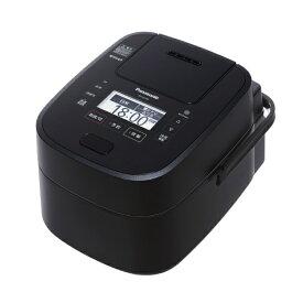 パナソニック SR-VSX108-K スチーム&可変圧力IH炊飯ジャー(5.5合炊き) Wおどり炊き ブラック [SRVSX108K]