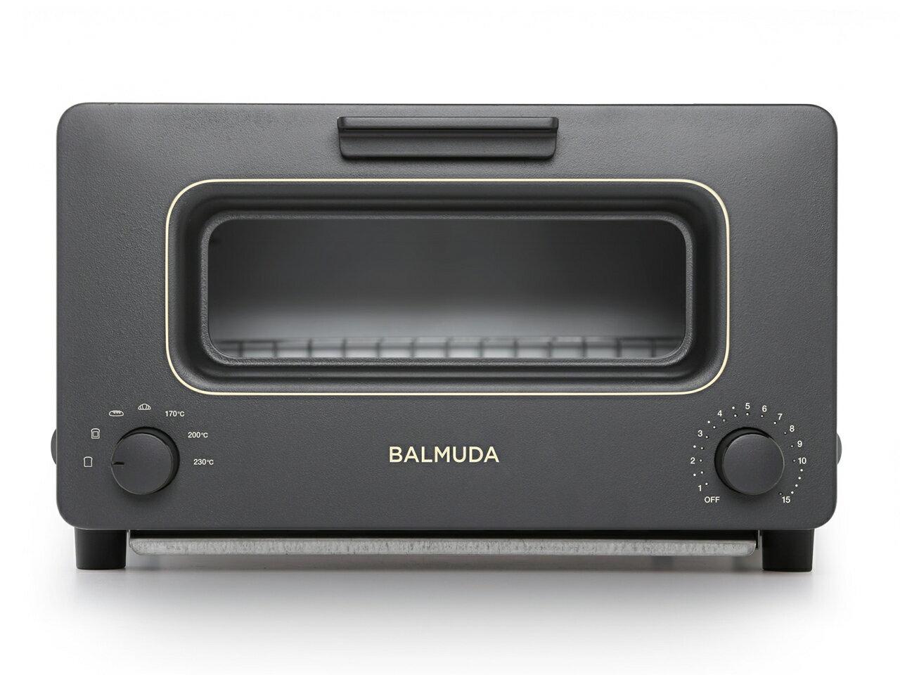 (在庫あり)バルミューダ K01E-KG スチームオーブントースター(ブラック)「BALMUDA The Toaster」