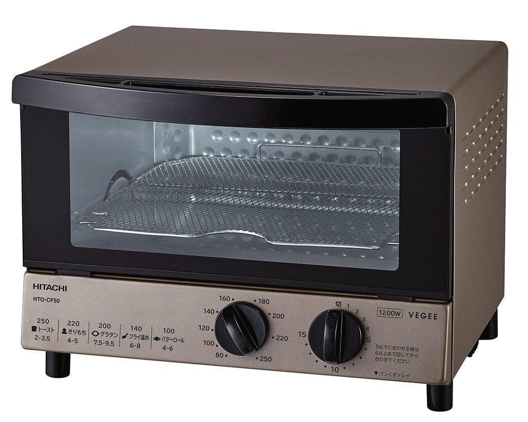 (お取り寄せ)日立 オーブントースター シャンパンゴールド HTO-CF50 N [HTOCF50N]