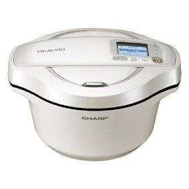(予約受付中:7/31入荷予定)シャープ KN-HW24FW 水なし自動調理鍋 ヘルシオ ホットクック ホワイト KNHW24FW