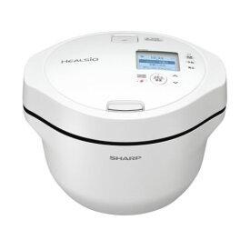 (納期目安:1-2週間)シャープ KN-HW24G-W 水なし自動調理鍋 ヘルシオ ホットクック ホワイト系 KNHW24GW 2.4Lモデル