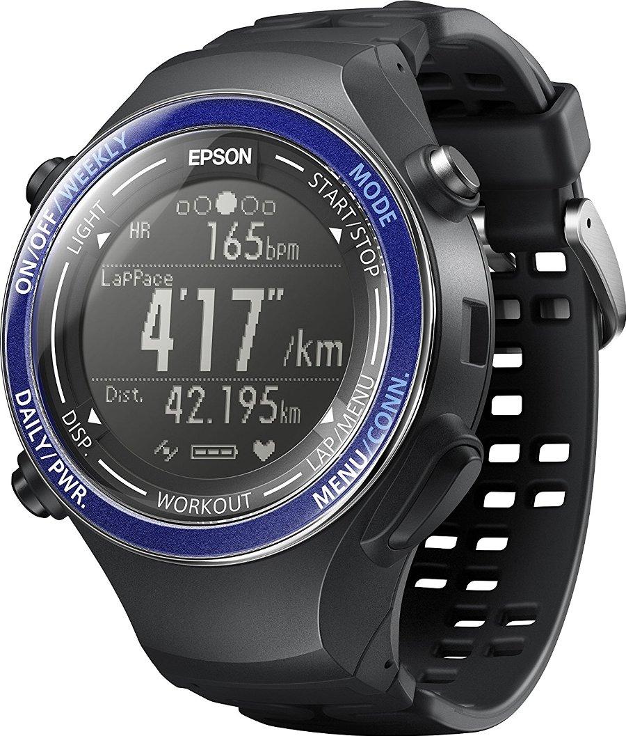 (お取り寄せ)EPSON Wristable GPS 腕時計 GPS機能 ランニング SF-850PS