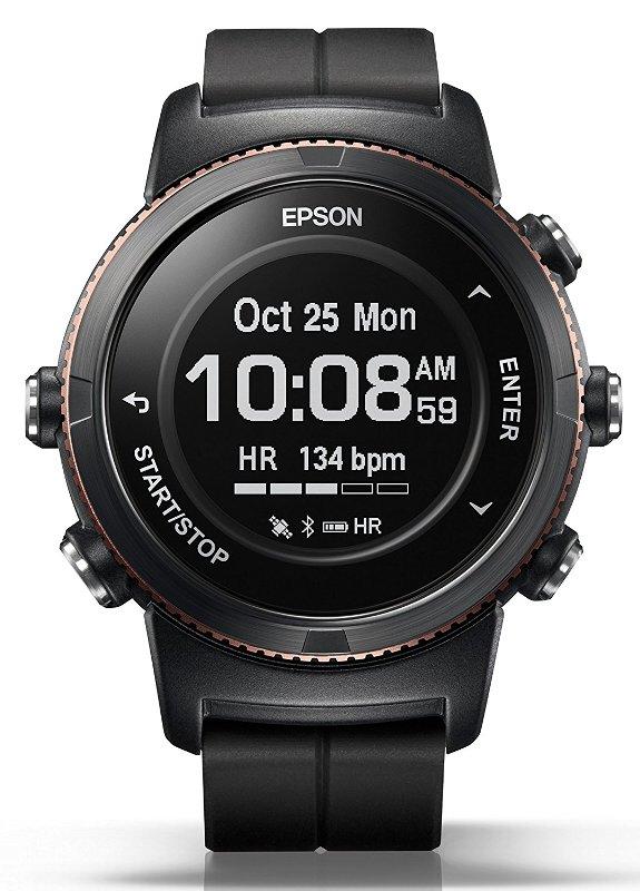 (お取り寄せ)EPSON WristableGPS 腕時計 GPSランニングウォッチ 脈拍計測 U-350BS