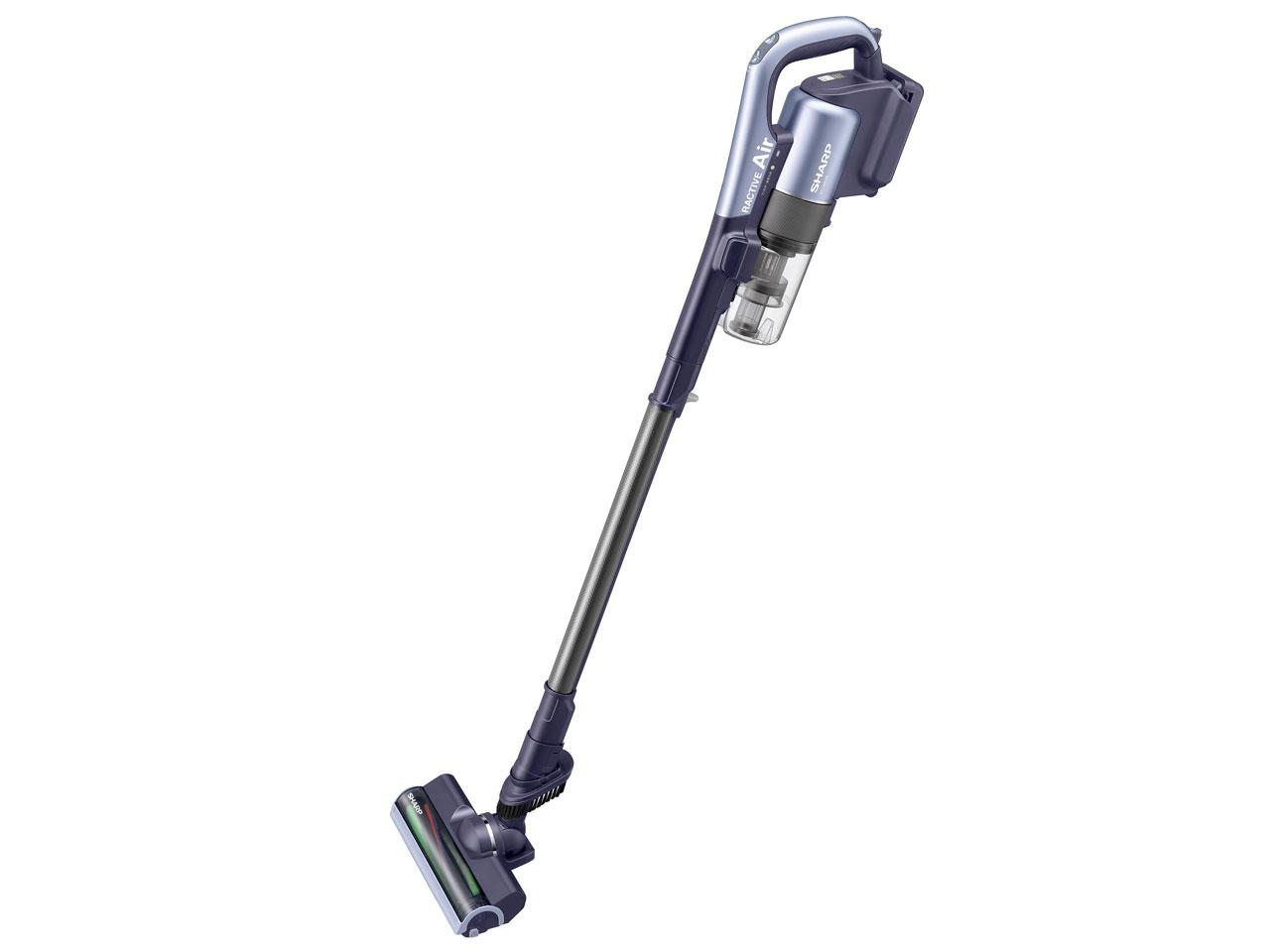 シャープ コードレス スティック掃除機 RACTIVE Air [バイオレット系]EC-AR2S-V