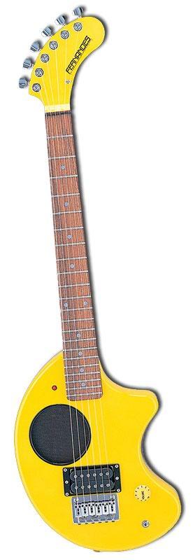 (在庫あり!ヘッドホン付)FERNANDES ZO-3 YELLOW フェルナンデス エレキギター ZO3 イエロー