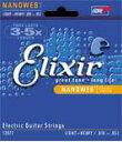 (在庫あり)エレキ弦 Elixir 12102 エリクサー コーティング エレキギター弦 ミディアム 011-049 NANO