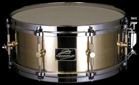 CANOPUS B-1455 The Brass 14x5.5 ブラス カノウプス スネアドラム B1455