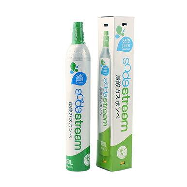 (お取り寄せ)sodastream/ソーダストリーム 炭酸水 予備用ガスボンベ(60リットル/高圧液化二酸化炭素)SSG0001