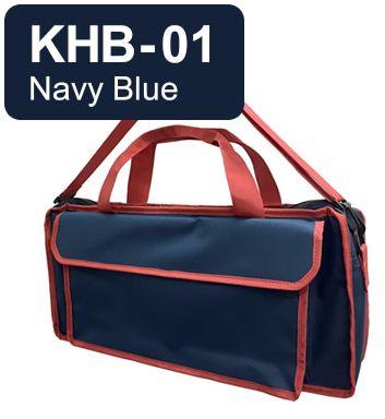 (お取り寄せ) キョーリツ 鍵盤ハーモニカ用バッグ KHB-01 Navy Blue KC P3001-32Kに最適♪おどうぐ箱持ち運び用としても!