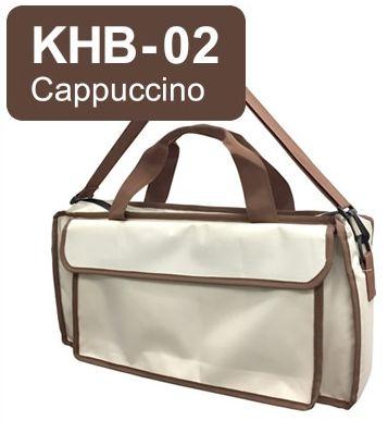 キョーリツ 鍵盤ハーモニカ用バッグ KHB-02 Cappuccino KC P3001-32Kに最適♪おどうぐ箱持ち運び用としても!