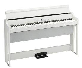 (お取り寄せ) KORG G1 Air WH ホワイト コルグ デジタルピアノ/電子ピアノ G1 AIR-WH *配達設置無料