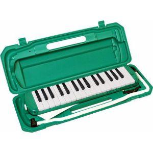 (お取り寄せ)(ドレミシール付き)キョーリツ 鍵盤ハーモニカ メロディーピアノ P3001-32K/GR(グリーン) MELODY PIANO P300132K GR