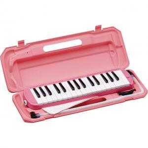 (在庫あり)(ポイント5倍)キョーリツ 鍵盤ハーモニカ メロディーピアノ P3001-32K/PK (ピンク) P300132KPK(ドレミシール付き)