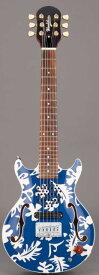 Woodstics WS-MINI ALOHA BLUE & WHITE ALOHA横山健プロデュース ミニギター